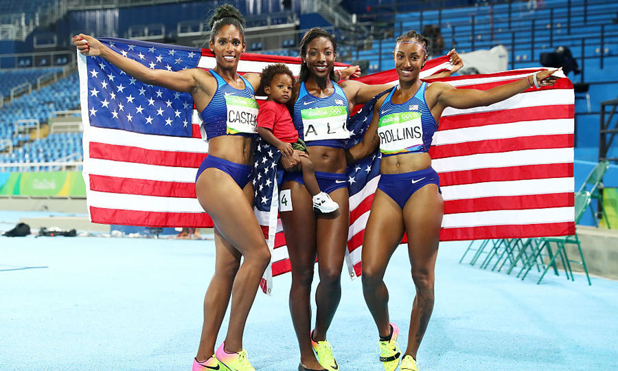 <b>US women make history placing 1, 2, and 3 in track and field</b>