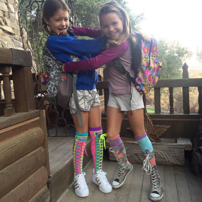 "The end of summer means freedom for <b>Rebecca Romijn</i>! Jerry O'Connell's wife took to Instagram to share her joy of having her twin daughters (Dolly and Charlie) return to school. She captioned the funny post, ""Hallelujah 1st day of school! See ya suckas!""