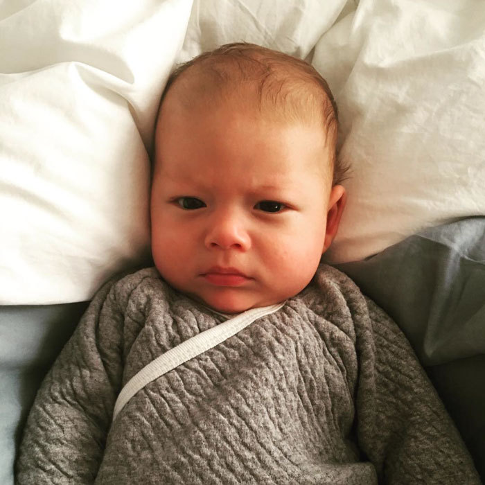 "And the gold medal for facial impressions goes to Boomer Phelps! Michael Phelps' son looked precious giving a face for the camera in a photo posted to his Instagram, captioned: ""Trying to do my best #mpface!! Gotta do it for daddy! Love you so much @m_phelps00 !!""