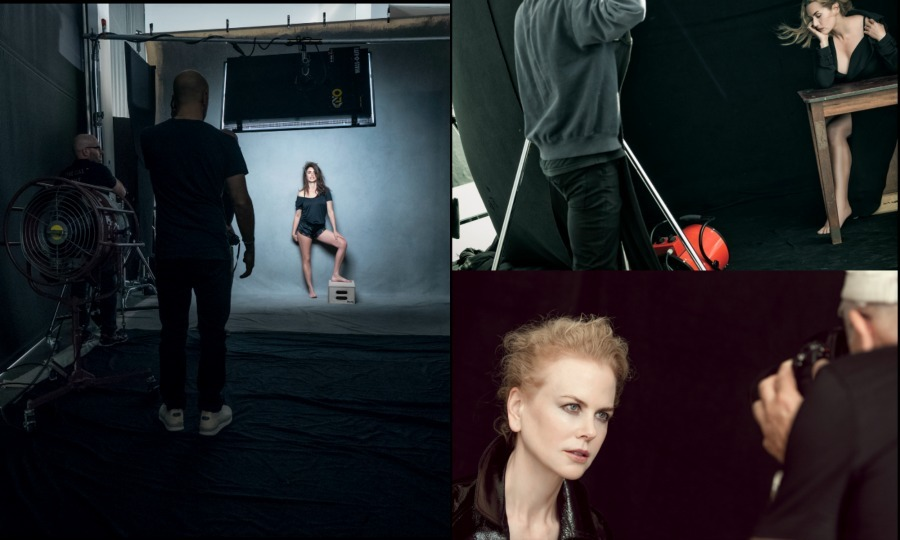 Famed photographer Peter Lindbergh is returning in 2017 with the third edition to his Pirelli Calendar featuring some of Hollywood's leading women. Nicole Kidman, Penelope Cruz, Kate Winslet, Charlotte Rampling, Uma Thurman, Lea Seydoux, Alicia Vikander, Julianne Moore, Robin Wright, Lupita Nyong'o, Rooney Mara, Jessica Chastain, Anastacia Ignatova, Helen Mirren and Zhang Ziyi are the timeless beauties photographed over a four week period in a variety of locations between Europe and the United States including, Berlin, London, Los Angeles, Le Touquet (North of Paris) and New York.