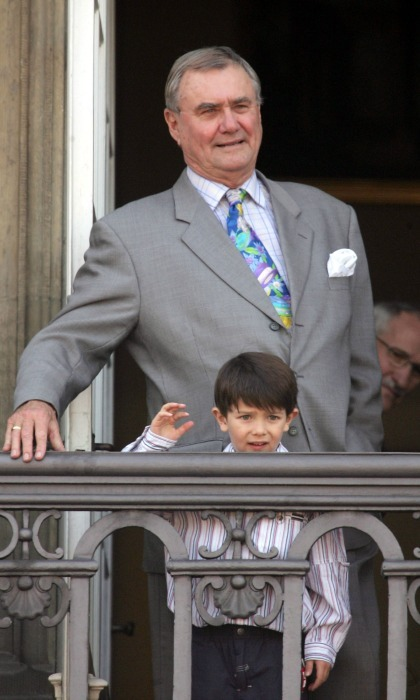 "The growing Prince developed his royal wave while standing on the balcony of Amalienborg with his grandfather <a href=""https://us.hellomagazine.com/tags/1/prince-henrik/""><strong>Prince Henrik</strong></a>, who passed away in 2018, back in 2005.