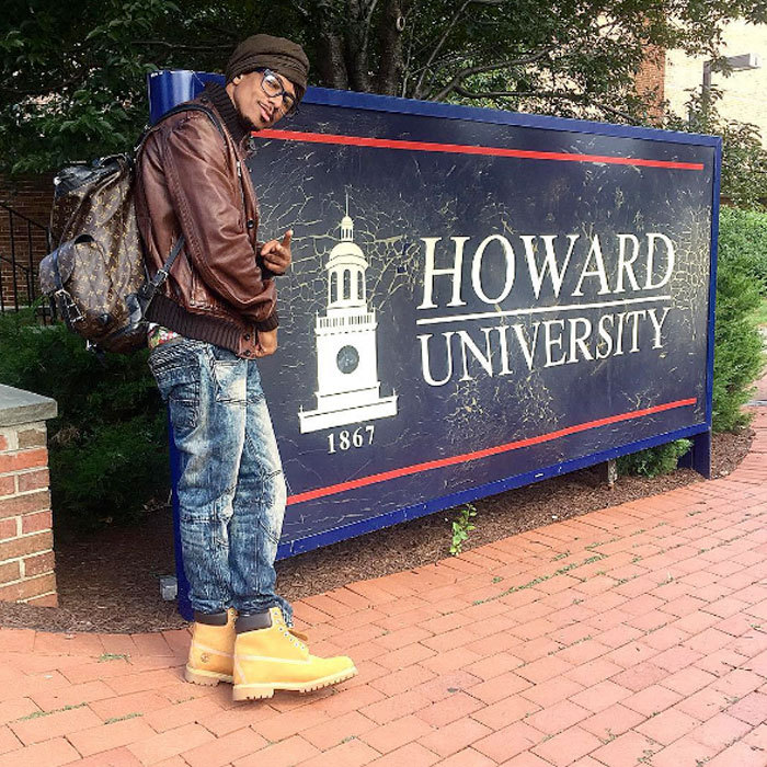 "You're never too old to go back to school! With his backpack on hand, <a href=""https://us.hellomagazine.com/tags/1/Nick-Cannon/""><strong>Nick Cannon</strong></a> posted a photo of himself at Washington, D.C.'s Howard University campus ready to take on his freshman year. He captioned the post, ""YOU KNOW!!!!! #HU2020 My First Day as a Freshman!!! Howard University Class of 2020.""