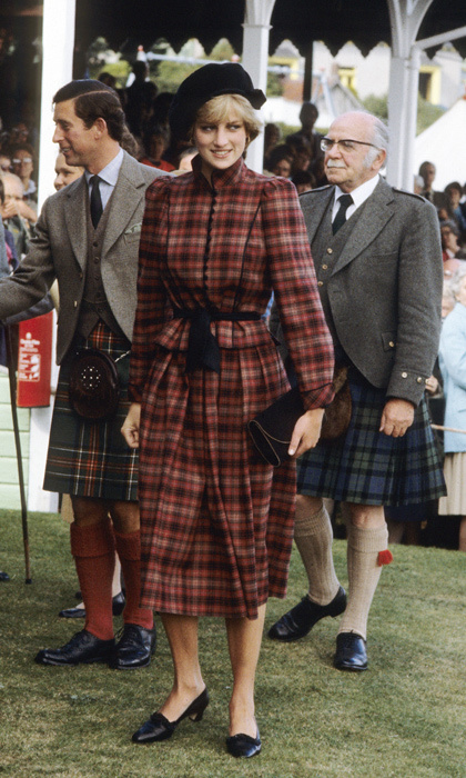 "Just two months after her wedding to Prince Charles, <a href=""https://us.hellomagazine.com/tags/1/princess-diana/""><strong>Princess Diana</strong></a> stepped out at the 1981 Braemar Games in Scotland wearing a tartan outfit from Caroline Charles, which she paired it with a black Scots soldier's Glengarry from John Boyd.