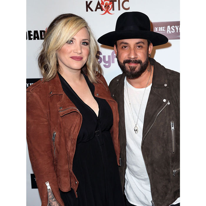 <b> A.J. McLean and Rochelle McLean</b>