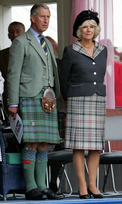 In 2006, the royal couple selected their own tartan color scheme for the Scottish Braemar Gathering.