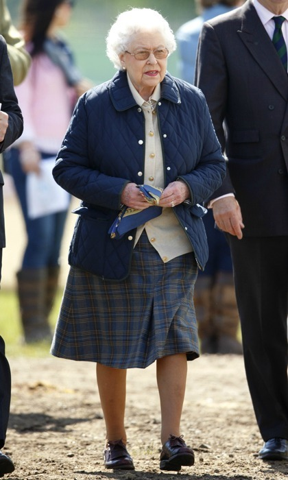 British Royals Wearing Tartan See Who Gave Their Personal