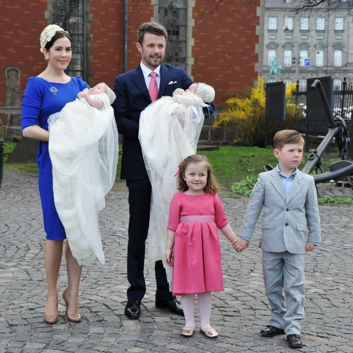 <b>Princess Josephine and Prince Vincent of Denmark</b>
