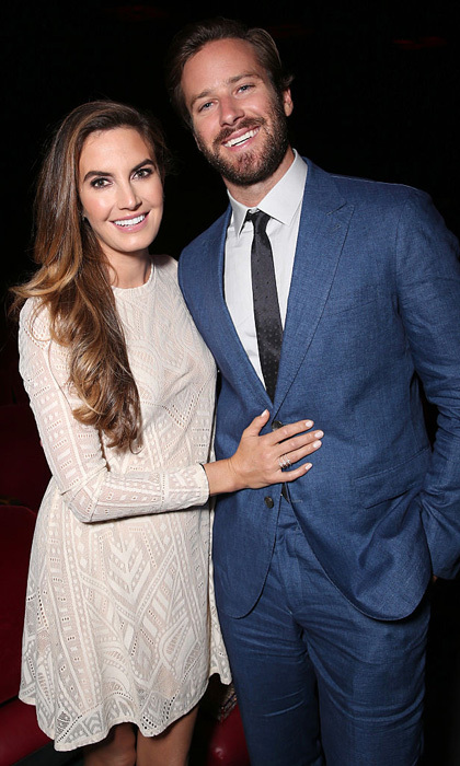 <b>Armie Hammer and Elizabeth Hammer</b>