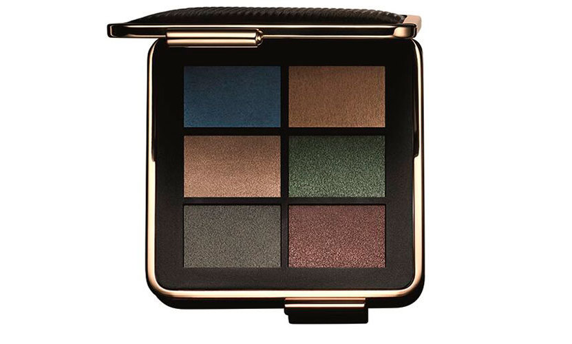 The key product from the look is the Victoria Beckham x Estee Lauder Eye Palette from the Limited Edition Makeup Collection (available at Estée Lauder counters at Bergdorf Goodman, bergdorfgoodman.com and esteelauder.com beginning September 13th) which was used to create contrasting dramatic and understated eyes.