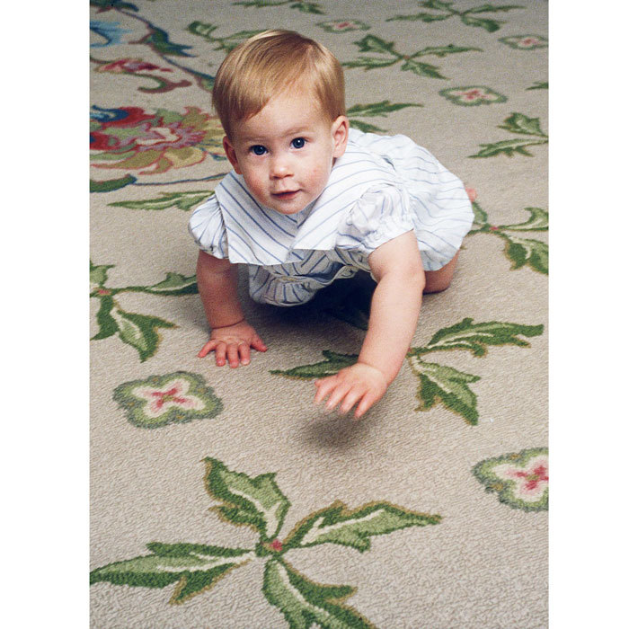 "Since the beginning, <a href=""https://us.hellomagazine.com/tags/1/prince-harry/""><strong>Prince Harry</strong></a>, who was born in 1984, has been a royal on the go! The ginger-haired Prince was photographed learning how to crawl at home at Kensington Palace. 