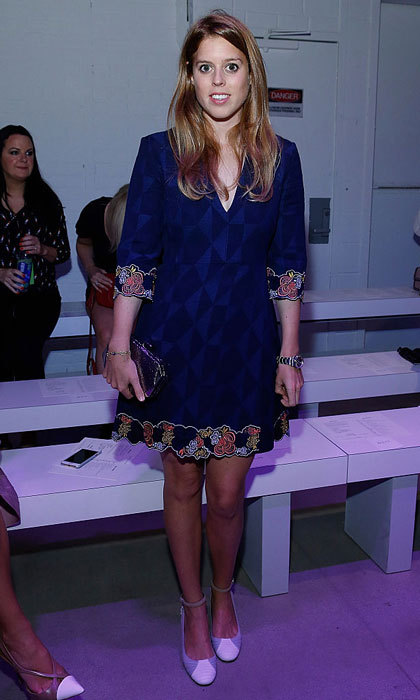 "<a href=""https://us.hellomagazine.com/tags/1/Princess-Beatrice/""><strong>Princess Beatrice of York</strong></a> stepped out to the Rebecca Minkoff Spring 2016 show during New York Fashion Week wearing a chic mini dress featuring embellishments on the sleeves and hem.