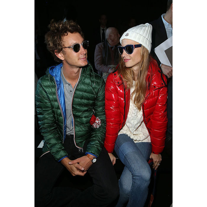 "Nothing shady here! <a href=""https://us.hellomagazine.com/tags/1/Pierre-Casiraghi/""><strong>Pierre Casiraghi</strong></a> and his then-fianceé <a href=""https://us.hellomagazine.com/tags/1/Beatrice-Borromeo/""><strong>Beatrice Borromeo</strong></a> looked cool in shades at the Moncler Gamme Rouge during Paris Fashion Week Womenswear Fall/Winter 2015/2016.