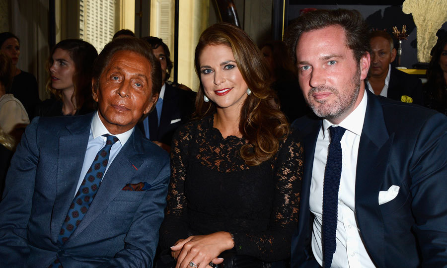 "Less than a month after wearing a Valentino dress for her 2013 nuptials to Christopher O'Neill, <a href=""https://us.hellomagazine.com/tags/1/Princess-Madeleine/""><strong>Princess Madeleine of Sweden</strong></a> and her husband (right) attended Valentino Garavani's show during Paris Fashion Week Haute-Couture Fall/Winter 2013-2014.
