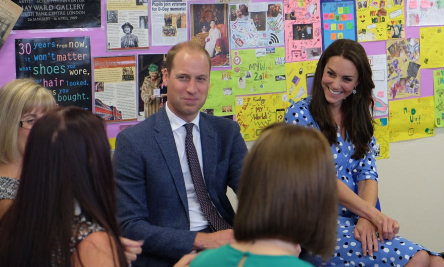 "At one point, Prince William joked: ""Sometimes I still feel like I am 16, to be honest sometimes I still act like I am 16."" His wife Kate agreed, quipping: ""I still think you're 16.""
