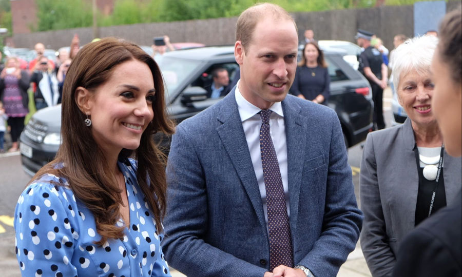 "<a href=""https://us.hellomagazine.com/tags/1/prince-william/""><strong>Prince William</strong></a> and <a href=""https://us.hellomagazine.com/tags/1/kate-middleton/""><strong>Kate Middleton</strong></a> returned back to school on Friday, September 16. The royal couple visited Stewards Academy in Harlow, England to learn more about the pressures facing children as part of their Heads Together campaign, which aims to aid mental health in young people.