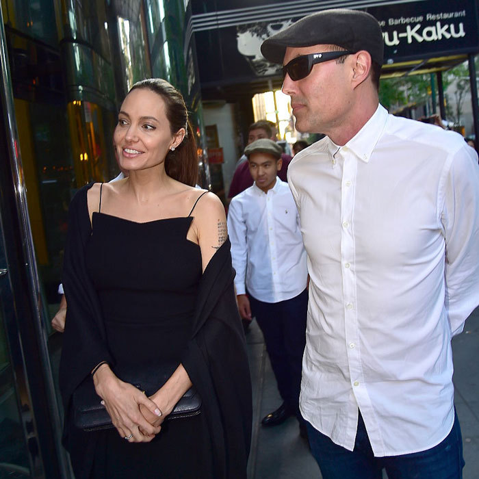 Following the show, Angelina and her eldest son were photographed out at dinner with her brother James Haven in NYC back in June.