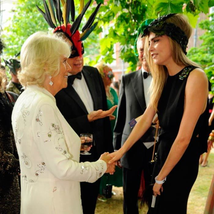 "<a href=""https://us.hellomagazine.com/tags/1cara-delevigne/""><strong>Cara Delevigne</strong></a> shook hands with <a href=""https://us.hellomagazine.com/tags/1/duchess-of-cornwall/""><strong>Camilla</strong></a> at an event to save elephants in the summer of 2013.