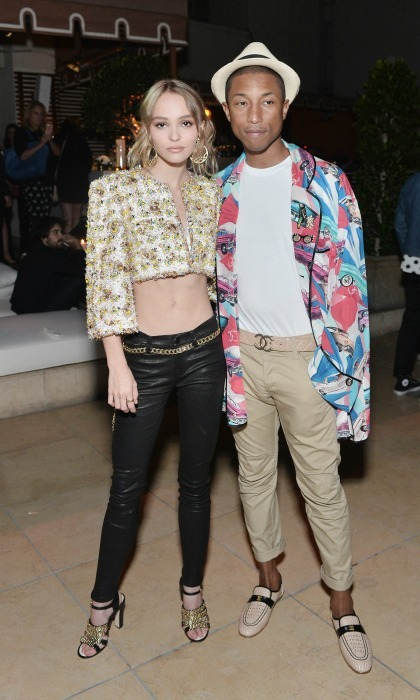 "September 22: Chanel overload! <a href=""https://us.hellomagazine.com/tags/1/lily-rose-depp/""><strong>Lily-Rose Depp</strong></a> and Pharrell Williams were both decked out in the designer during the fashion house's dinner celebrating N°5 L'Eau in West Hollywood.