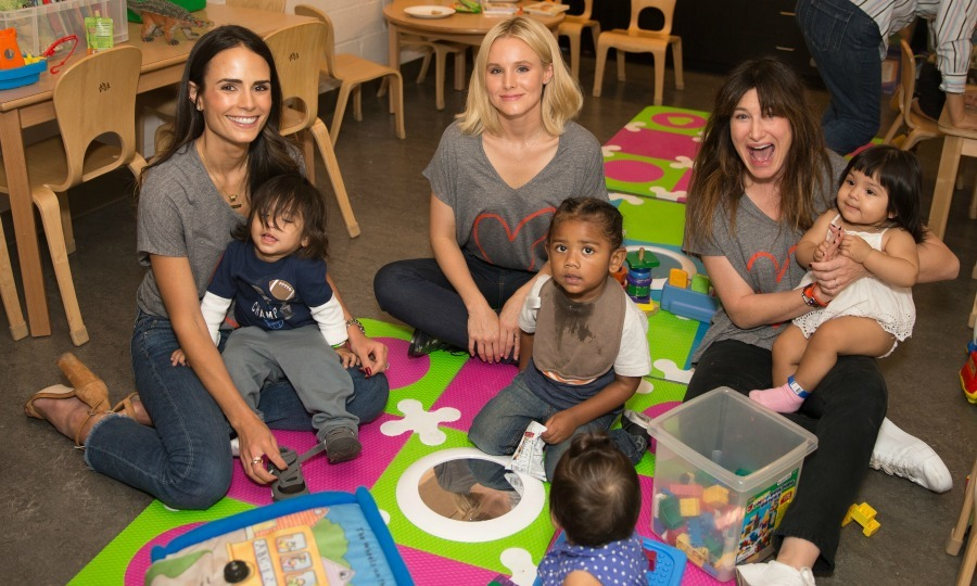 September 24: Mom life! Jordana Brewster, Kristen Bell and Kathryn Hahn attended the Alliance of Moms: Raising Baby charity event at the Children's Institute in Los Angeles. 
