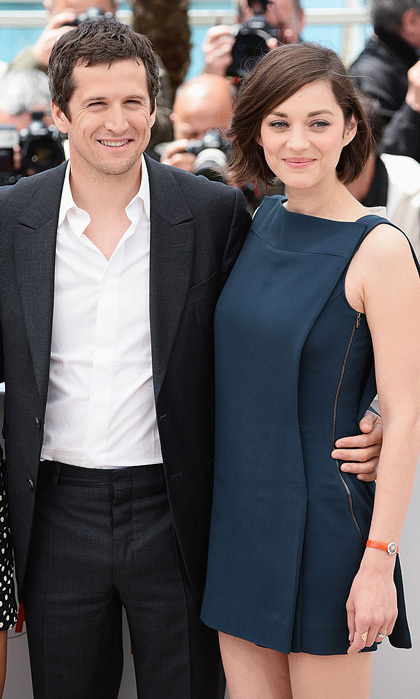 "Marion Cotillard's partner Guillaume Canet has commented on the mother of his children's rumored involvement in Brad Pitt's divorce. Taking to Instagram, the actor shared a photo of an international hazard warning sign and wrote in French: ""I do not usually comment on rumors made about us. I do not usually talk about my private life…""