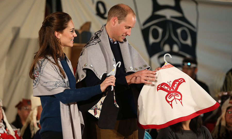 "The Duke and Duchess, who were honored as ""people of