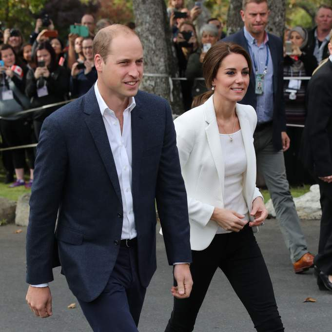 Prince William and Kate Middleton had kicked off the final day of the royal tour with a visit to the social care charity Cridge Centre for the Family in Victoria.