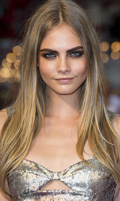 Mistake: Overplucked eyebrows
