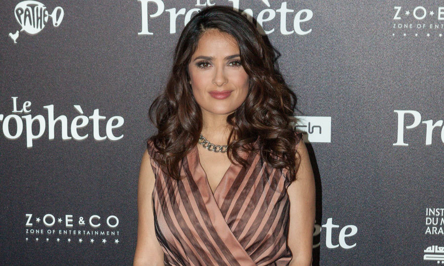 "Salma Hayek isn't too concerned about her own jewelry in Paris following Kim's attack in the French Capital. Talking to the Associated Press, the actress said, ""I don't have that much jewelry in Paris. I don't.