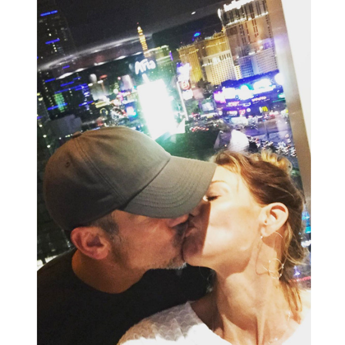 "Faith is one proud wifey! After Tim performed at the 2016 ACM awards, the mom-of-three shared a PDA-filled photo writing, ""I am so proud of my man! #ACMs #humbleandkind.""