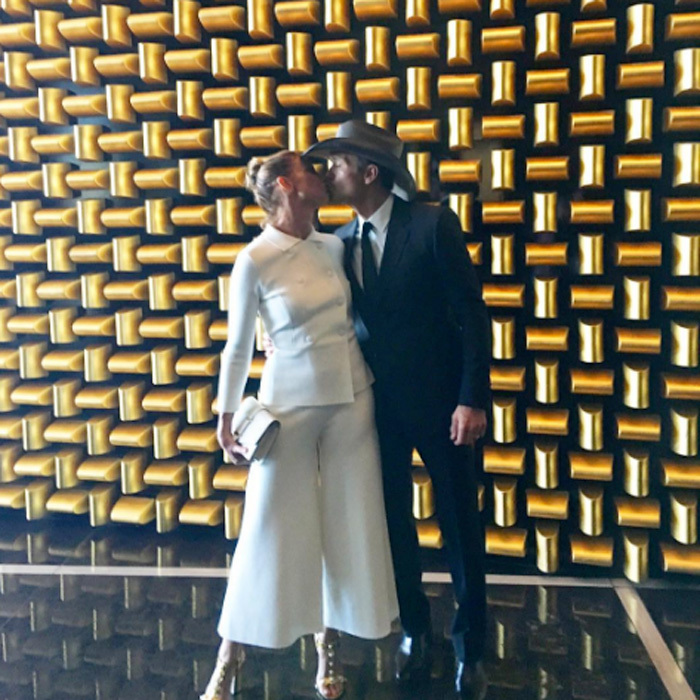 Faith and Tim shared a steamy kiss on their way to the 2016   Academy of Country Music Awards.