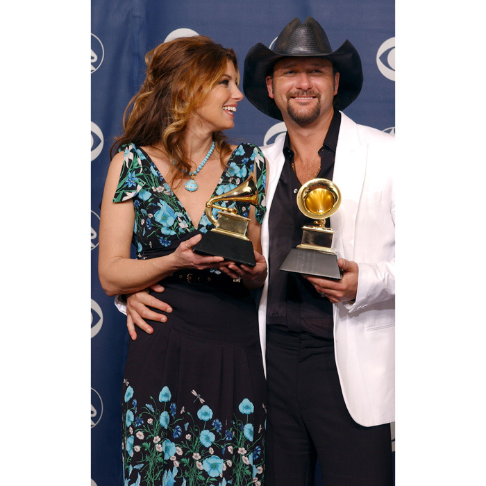 The country singer beamed alongside her Grammy-winning husband at the 2006 Grammy Awards.