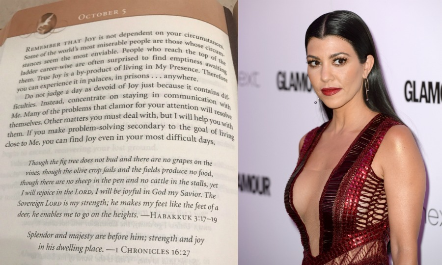 Kourtney Kardashian, who was in Paris with Kim - though out at a club when the robbery happened - has broken her silence following her sister's scary incident.