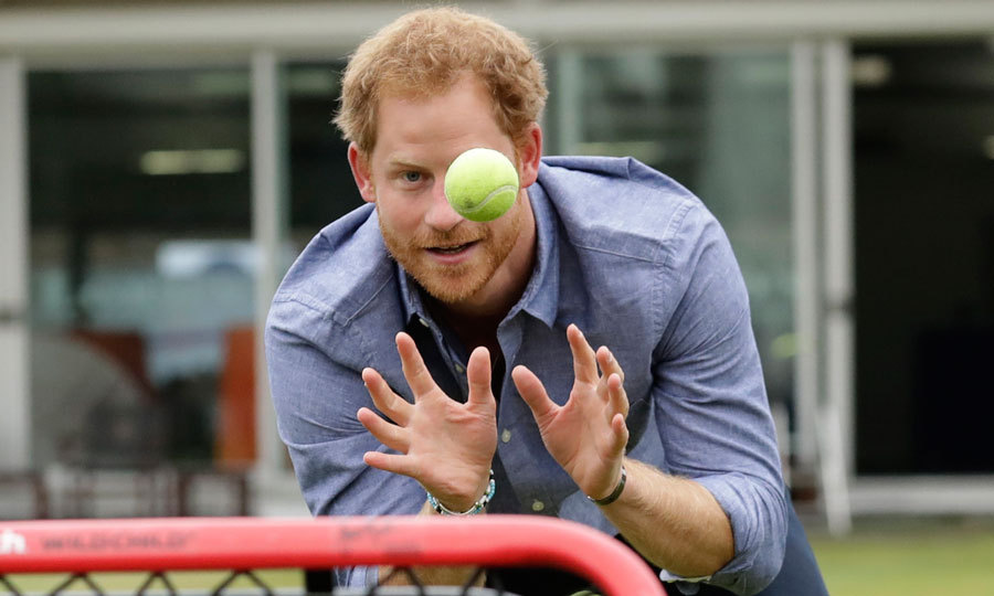 The British royal was on hand to promote Coach Core, which trains young people from disadvantaged communities to become professional sports coaches.