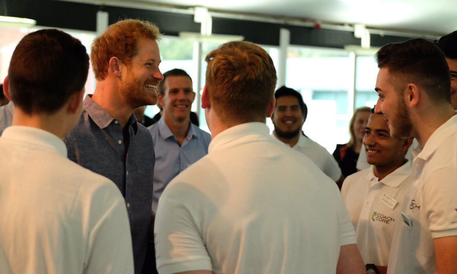 "In his speech the royal noted, ""The young people here today have a real chance of moving on into employment or training and in turn will inspire thousands of other young people to take part in sport – extending the positive reach of this program.""