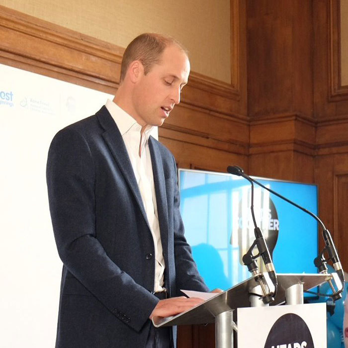 """On the @heads_together journey so far we have seen the difference that a listening ear can make to people's lives,"" William said. 