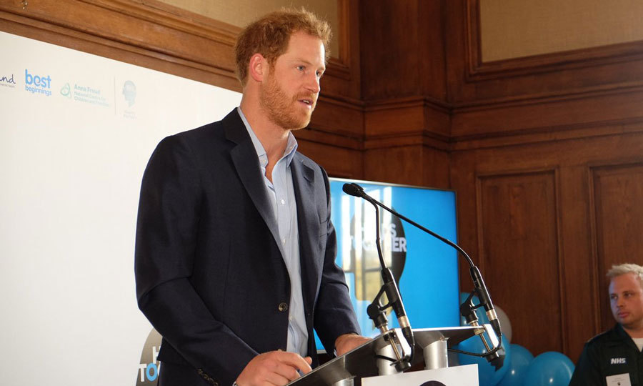 "Harry urged the public to stop the stigma surrounding mental health. He said, ""It's time we ended the shame around mental health – the fear of judgment that stops people talking or getting help"" 