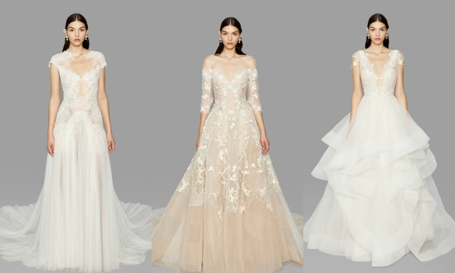 Fall 2017 wedding dresses: Oscar de la Renta, Marchesa and more from ...
