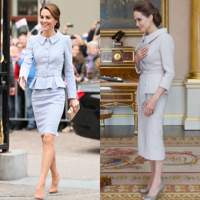 <b>Kate Middleton and Angelina Jolie</b>