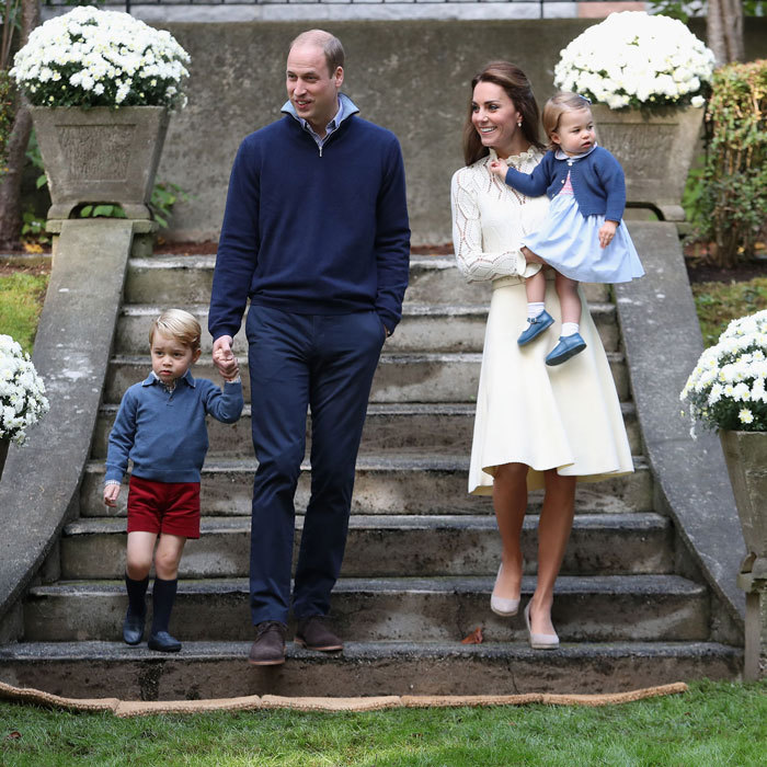Prince William Says Prince George And Princess Charlotte