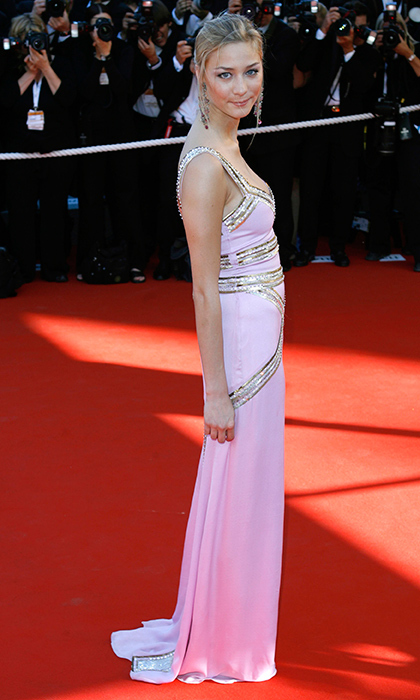 Long before she was Monaco royal Pierre Casiraghi's blushing bride, Beatrice Borromeo swanned down the red carpet in powder pink for the <I>Marie Antoinette</I> premiere at the 59th Cannes Film Festival.
