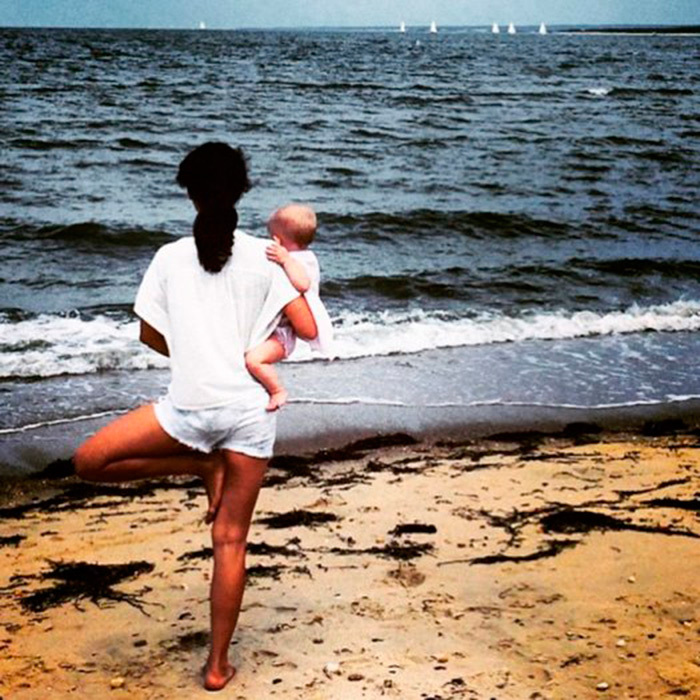 "<a href=""https://us.hellomagazine.com/tags/1/hilaria-baldwin/""><strong>Hilaria Baldwin</strong></a> wasted no time when it came to introducing her daughter Carmen to yoga, incorporating her into her fitness routine since birth.
