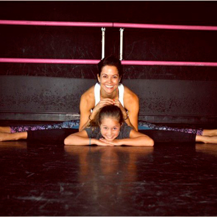 "<I>Dancing with the Stars</I>' <a href=""https://us.hellomagazine.com/tags/1/brooke-burke/""><strong>Brooke Burke</strong></a> is helping make sure her daughter is fit and healthy with their joint excercises. 