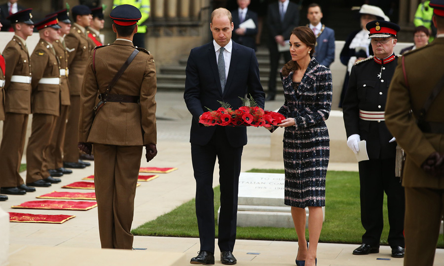 Following their visit to the museum, the Duke and Duchess of Cambridge attended a ceremony at Manchester Town Hall.