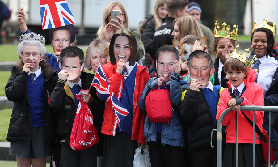 The couple received a warm reception outside the museum,  which aims to explain to fans how and why soccer has become 'the people's game.' 