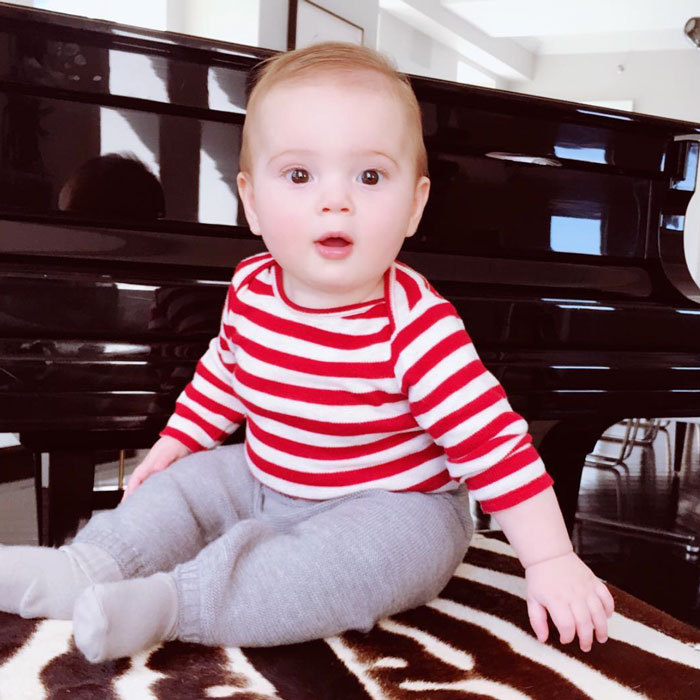 "A young Billy Joel in the making! Ivanka posted a photo of her baby boy sitting perched up on a zebra-printed bench beside a grand piano. Attached to the picture she wrote, ""Piano Man!""