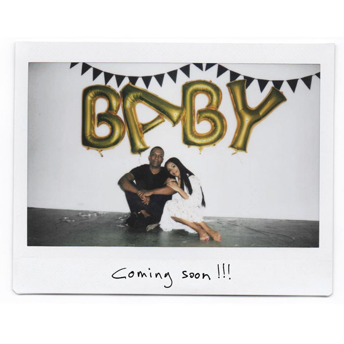 "Former <i>Hamilton</i> star, Leslie Odom Jr. has a baby on the way! The Tony-winning actor took to his Instagram to announce that he and his wife Nicolette Robinson are expecting their first child together. Sharing a polaroid of himself and Nicolette seated in front of balloons spelling out the word ""baby,"" Leslie wrote, ""Little one, you're on our mind all the time. Keep eating and growing! We love you and we're already so proud of you! Love, your mom and dad.""
