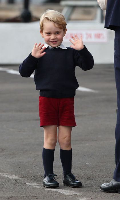 Prince George is fascinated by fencing.