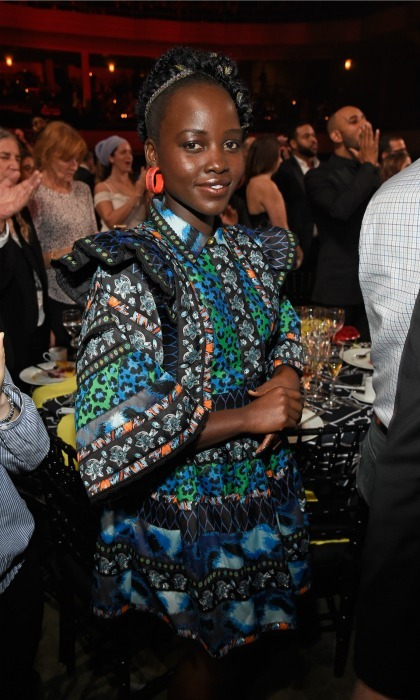 October 18: Lupita Nyong'o looked stunning inside of the 13th annual Keep a Child Alive Black Ball in NYC. 