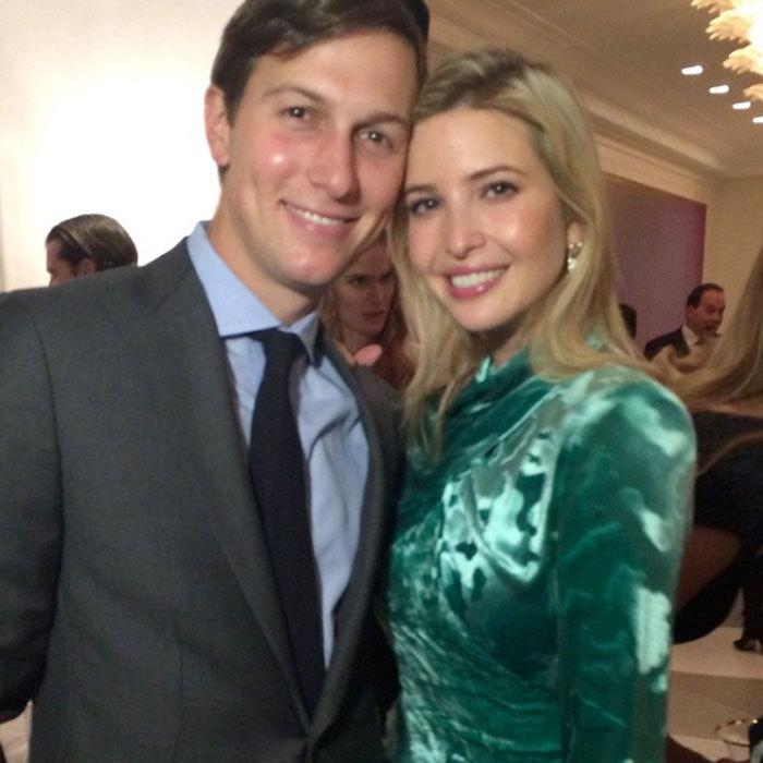 The duo flashed bright grins for the camera in 2014.