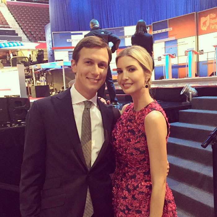 Jared stepped out with his wife to support his father-in-law, Donald Trump, at the 2015 GOP debate.